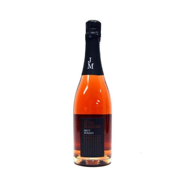 Parelende-wijn-Juve-Masana-Brut-Rosado-Rosé-Cava-Spanje