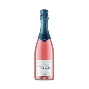 Parelende-wijn-Toca-Brut-Rosé-Cava-Spanje