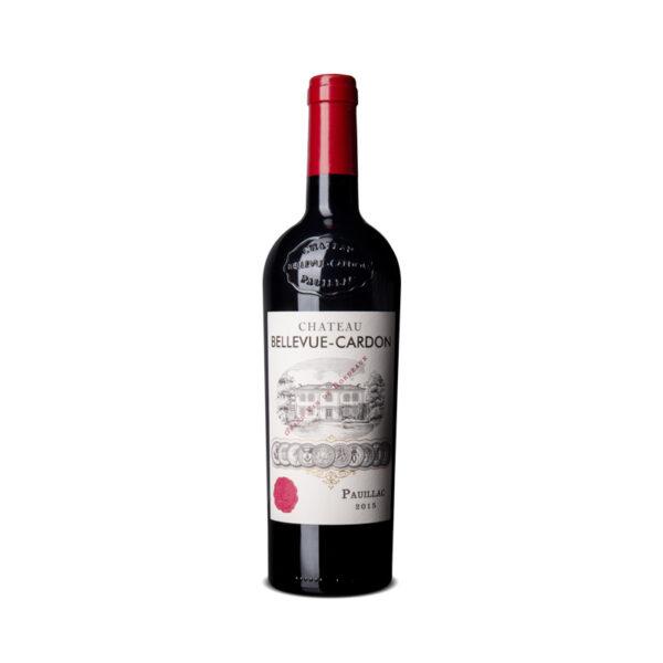 Rode-Wijn-Bordeaux-Chateau-Bellevue-Cardon-Pauillac-Frankrijk