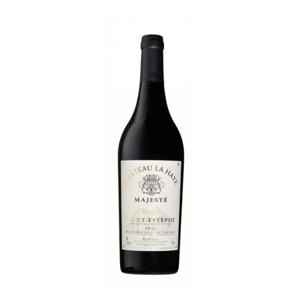 Rode-Wijn-Bordeaux-Chateau-La-Haye-Majesté-Cru-Bourgois-Saint-Estèphe-Frankrijk