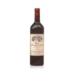 Rode-Wijn-Château-Commanderie-Queret-Bordeaux-Frankrijk