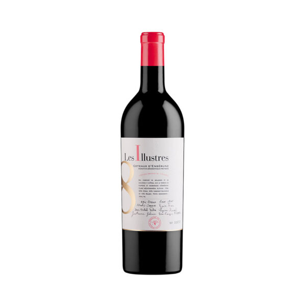 Rode-Wijn-Foncalieu-Prestige-Illustres-Coteaux-Enserune-Sud-Frankrijk