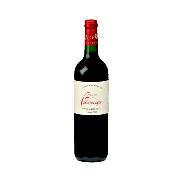 Rode-Wijn-Hugo-Canon-Fronsac-Château-Barrabaque-Frankrijk