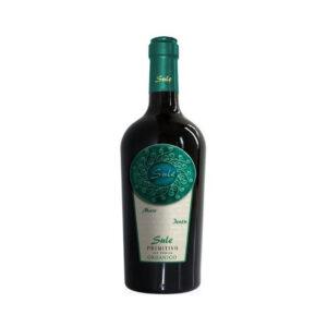 Rode-Wijn-Primitivo-Organico-Sule-Cinquesegni-Puglia-Italië