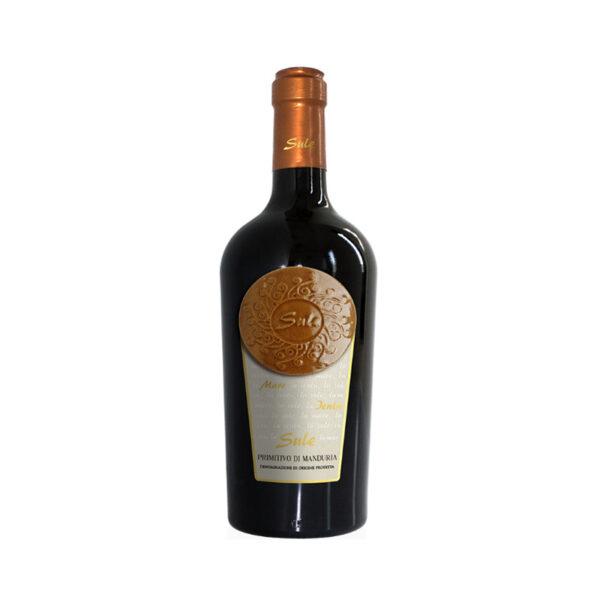 Rode-Wijn-Primitivo-di-Manduria-Sule-Cinquesegni-Puglia-Italië