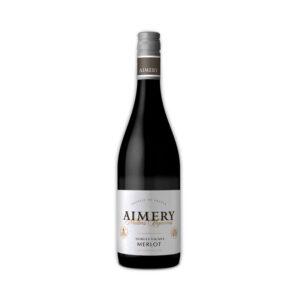 Rode-Wijn-Sieur-d'arques-Merlot-Aimery-Sud-Frankrijk