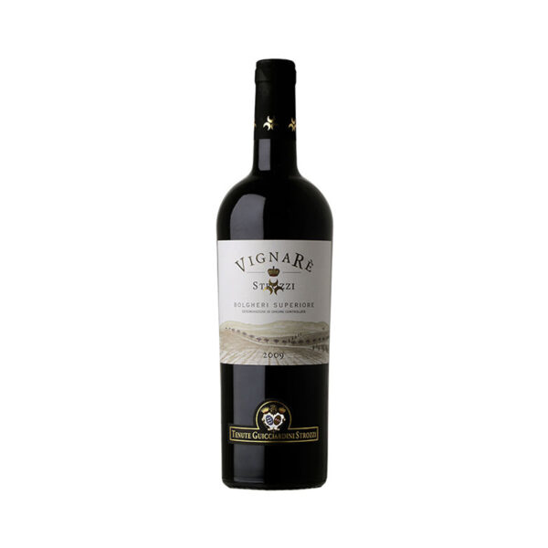 Rode-Wijn-Vignaré-Guicciardini-Strozzi-Bolgheri-Superiore-Italië