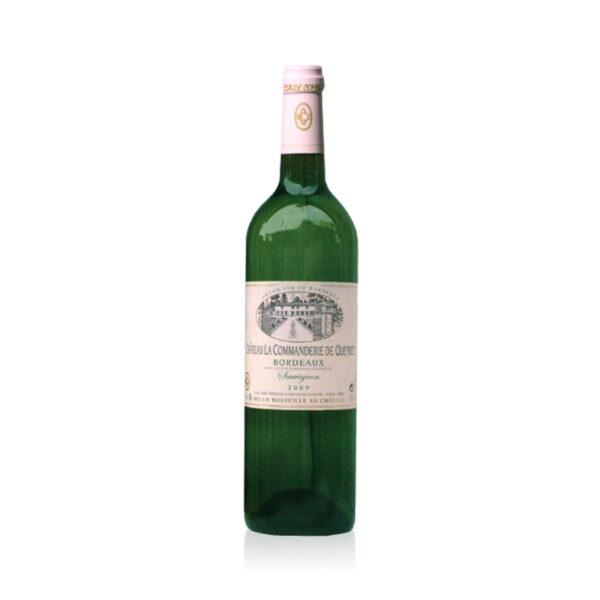 Witte-Wijn-Château-Commanderie-Queret-Blanc-Bordeaux-Frankrijk