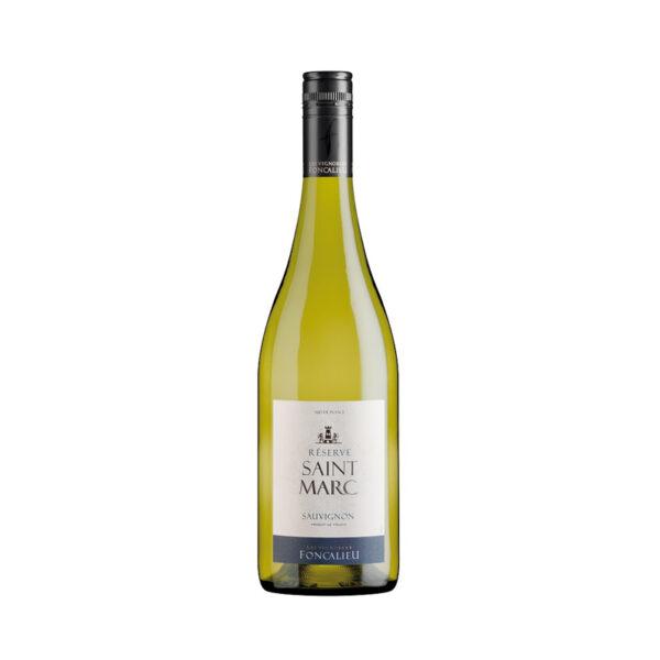 Witte-Wijn-Foncalieu-Saint-Marc-Sauvignon-Sud-Frankrijk