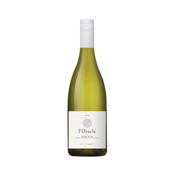 Witte-Wijn-l'oracle-Chardonnay-Sieur-d'arques-Sud-Frankrijk