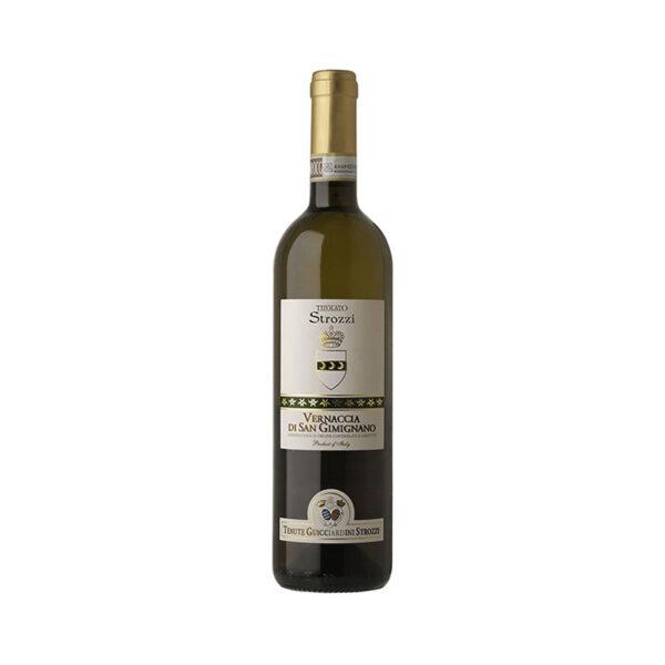 Witte-Wijn-vernaccia-Titolato-Guicciardini-Strozzi-San-Gimignano-Italië