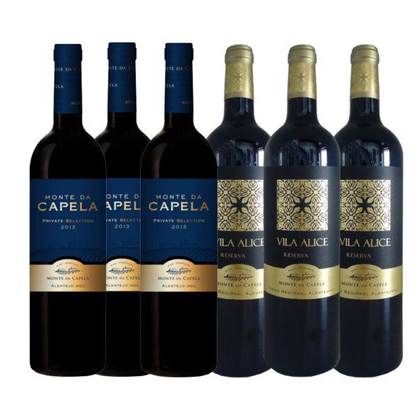 Wijnpakket-Monte-de-Capela