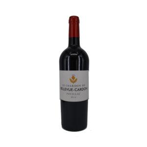 Rode-Wijn-Bordeaux-Chardon-Bellevue-Cardon-Pauillac-Frankrijk