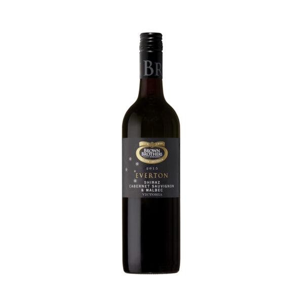 Rode-Wijn-Everton-Red-Limited-Shiraz-Cabernet-Sauvignon-Malbe-Brown-Brothers-Australië