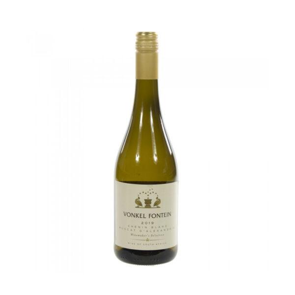 Witte-Wijn-Chenin-Blanc-muscat-alexandrie-Vonkel-Fontein-Zuid-Afrika